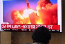 صورة كوريا الشمالية تطلق صاروخًا جديدًا يفوق سرعة الصوت
