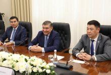 صورة لجنة الانتخابات المركزية (CEC)بأوزبكستان تعقد اجتماعاً مع بعثة المراقبة لمنظمة شنغهاي للتعاون..