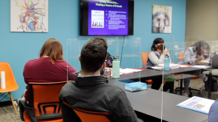 peer mentoring participants
