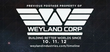 Weyland post creditos