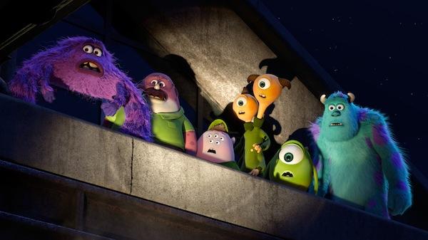 Mike, Sulley y sus nuevos amigos
