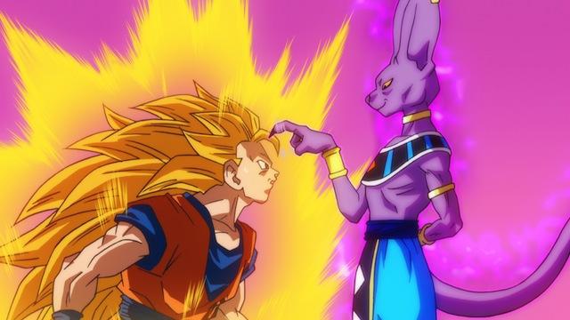 Goku contra Bills
