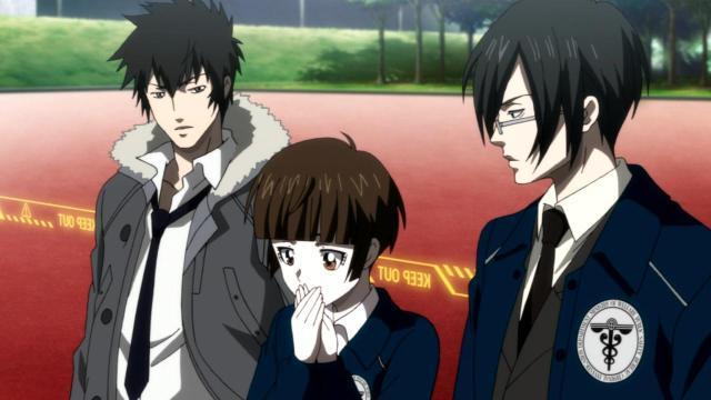 Kogami, Akane y Ginoza