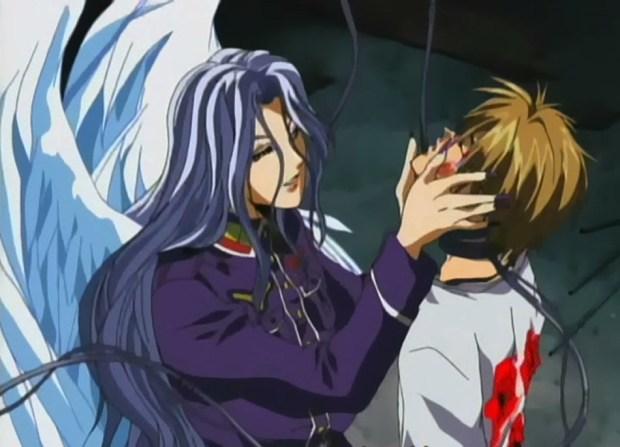 Roshiel intenta despertar a su Alexial que vive dormida dentro de Setsuna.