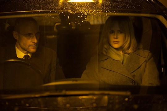 Nicole Kidman y Mark Strong