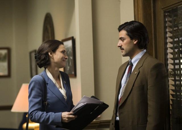 Nick Wasicsko (Oscar Isaac) y  Vinni Restiano (Winona Ryder)