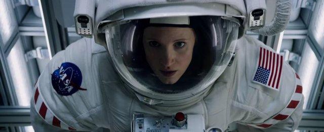 Jessica Chastain, por fin está en el espacio y es bacán, y no una llorica