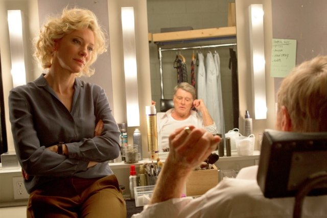 Mary Mapes (Cate Blanchett) y Dan Rather (Robert Redford)