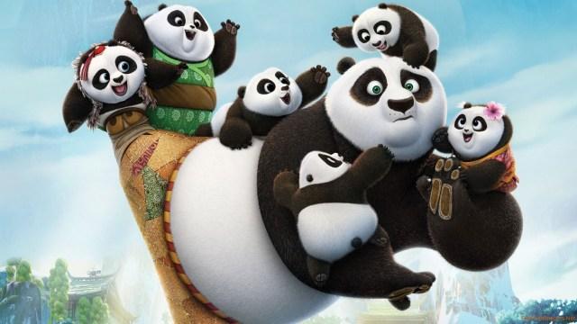 Po y los panda bebés