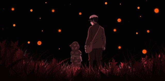 Películas de guerra para ver - la tumba de las luciernagas