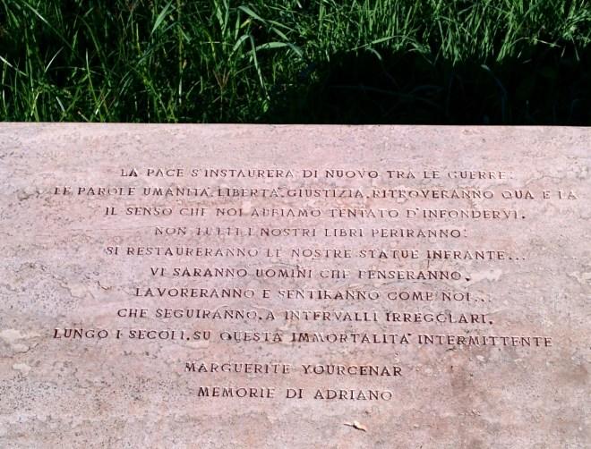 memórias adriano yourcenar roma day trip tivoli villa