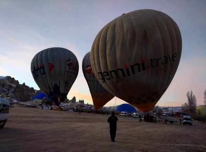 balão capadócia preparação