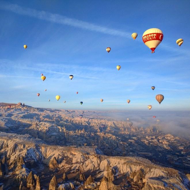 balão capadócia vista 2