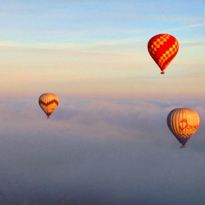 Balões capadócia