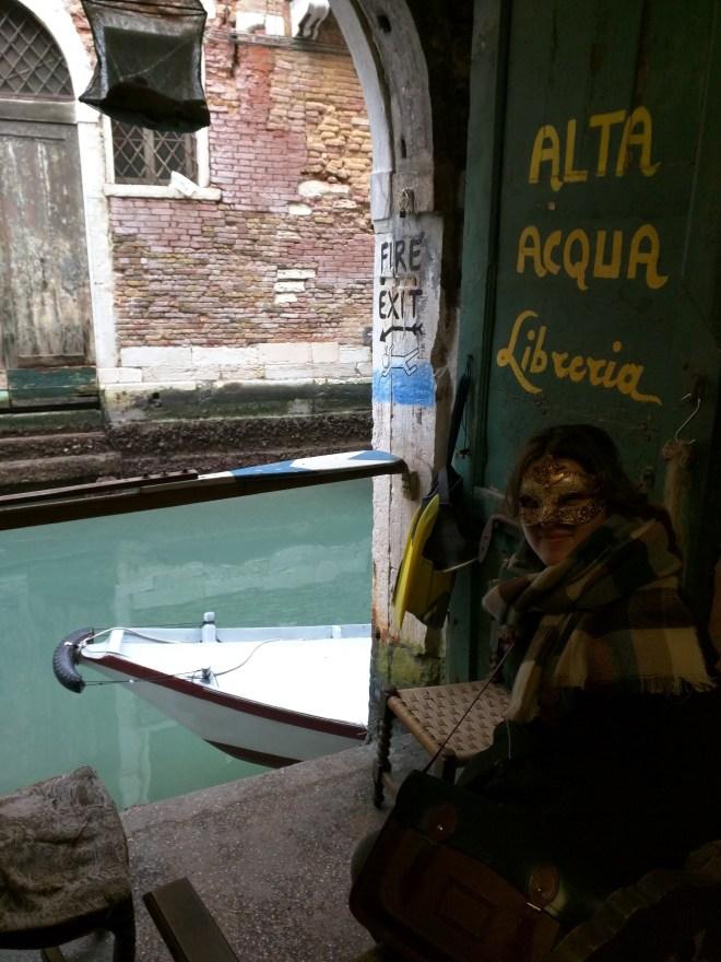 Carnaval de veneza acqua alta
