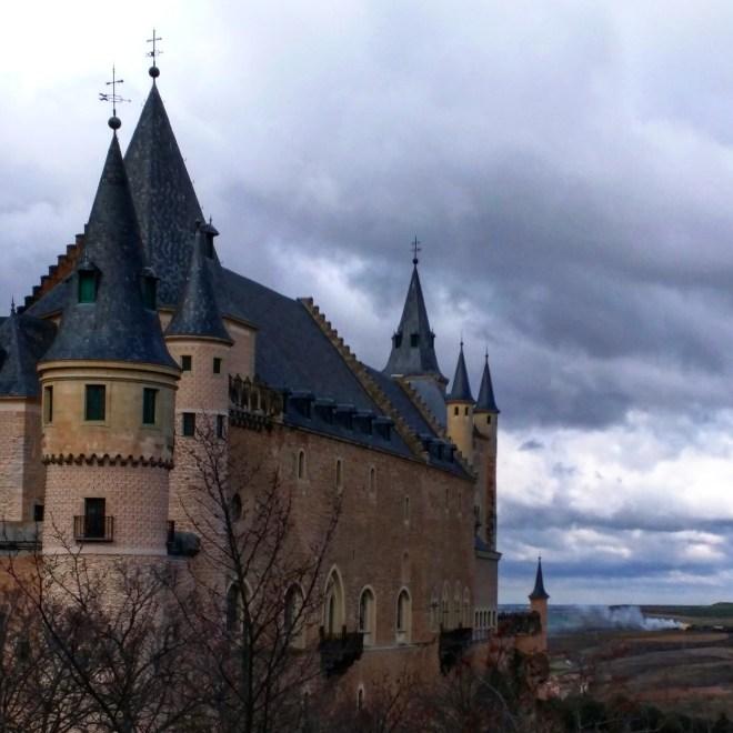 Alcazar de Segóvia Castelo Bela Adormecida 1