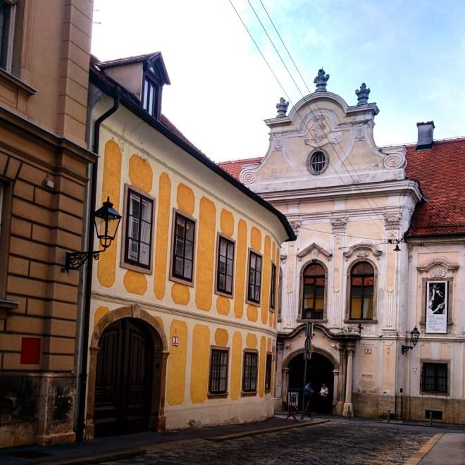 Cidade alta Zagreb