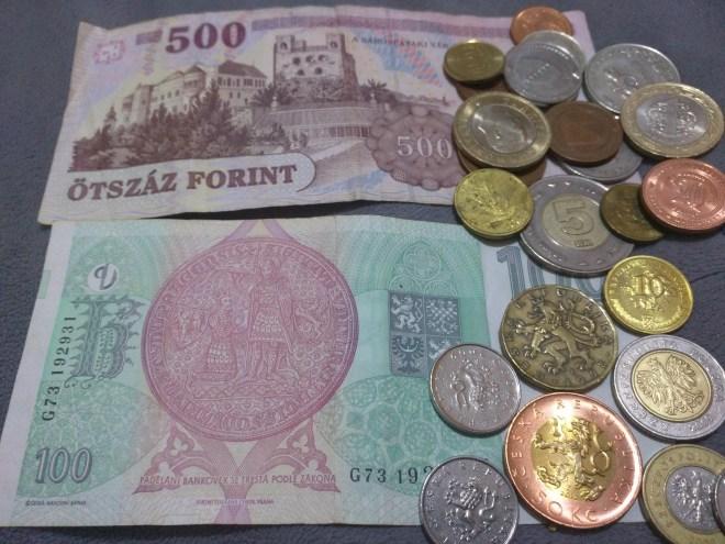 Como trocar dinheiro centro leste europeu