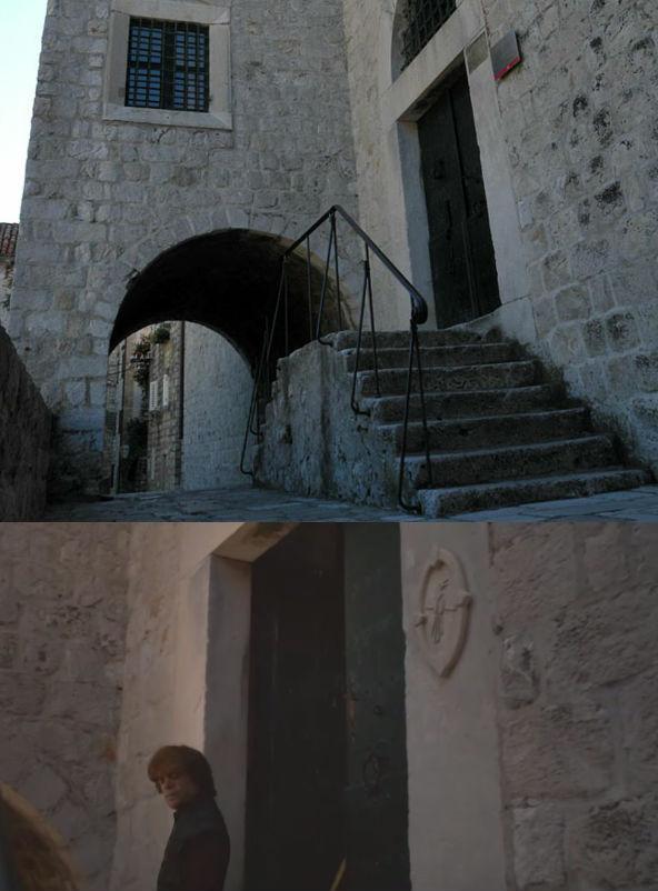 Museu etnográfico King's Landing Dubrovnik