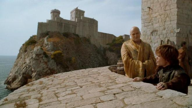 Preparando para o cerco King's Landing Dubrovnik