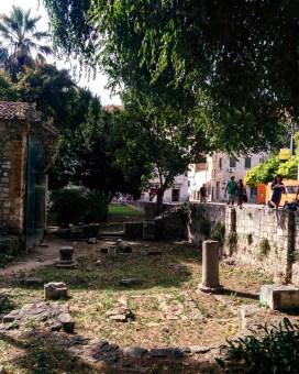 Ruínas Palacio Diocleciano Split