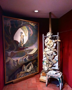 Teatro Museu Dalí escultura