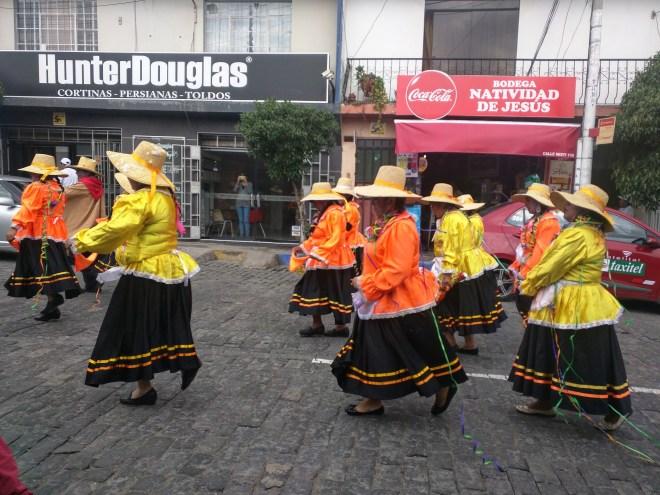 Carnaval Arequipa parada