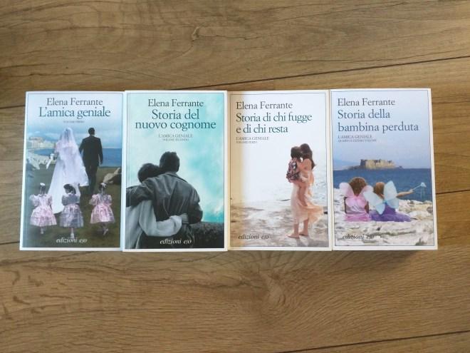 Romances de Nápoles - Elena Ferrante. Volta ao Mundo em Livros