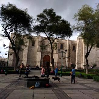 Arequipa Plaza de san Francisco 1