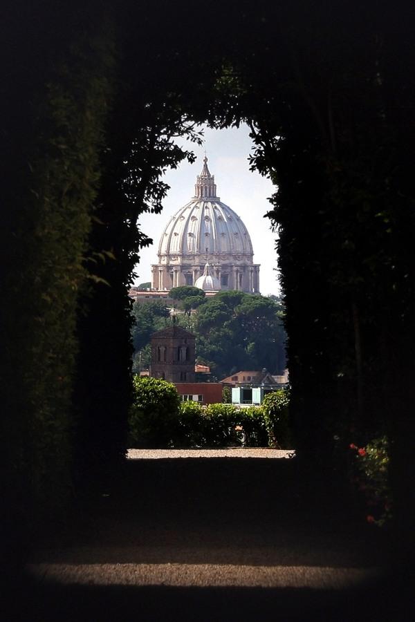 aventno fechadura vista vaticano
