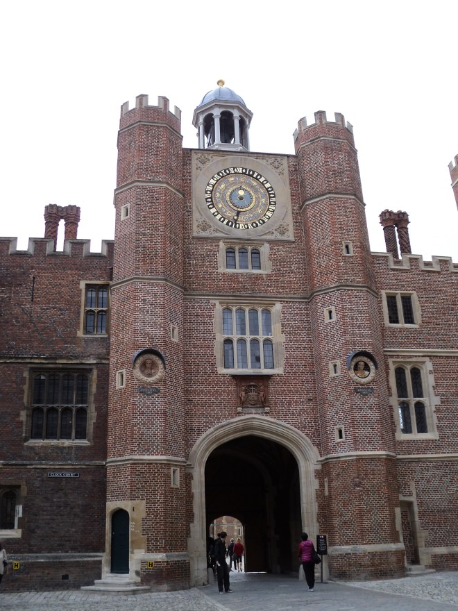 Hampton Court Palace Pátios 8