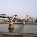 St Paul e Millenium Bridge Londres