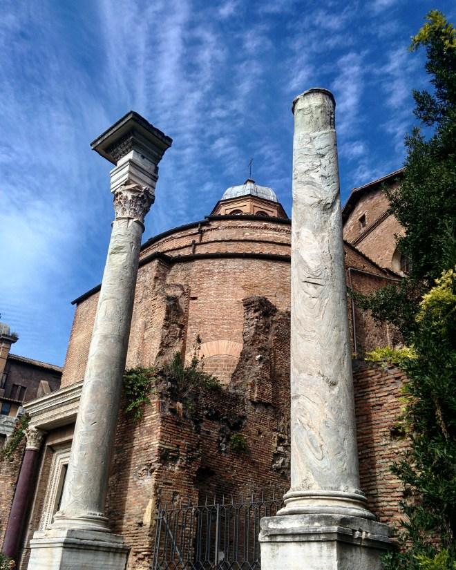 Templo de Romulo Forum Romano