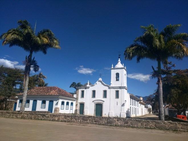 Capelinha centro histórico Paraty