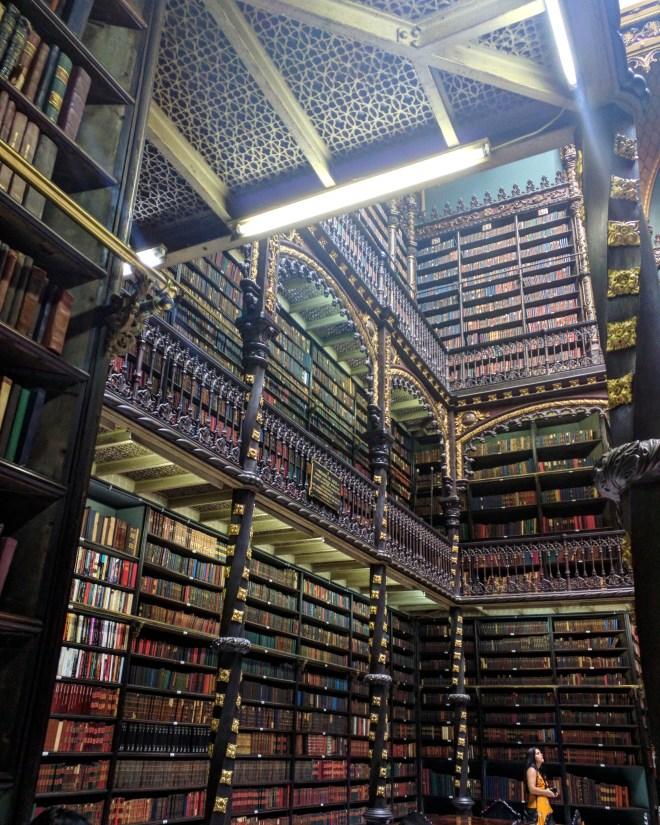 Real Gabinete Portugues de Leitura - bibliotecas mais bonitas do mundo 4