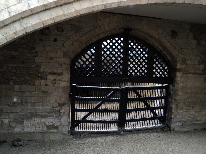Torre de Londres Traitor's gate