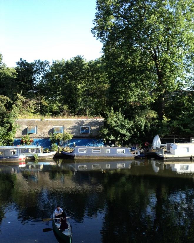 Regent's Canal barquinho