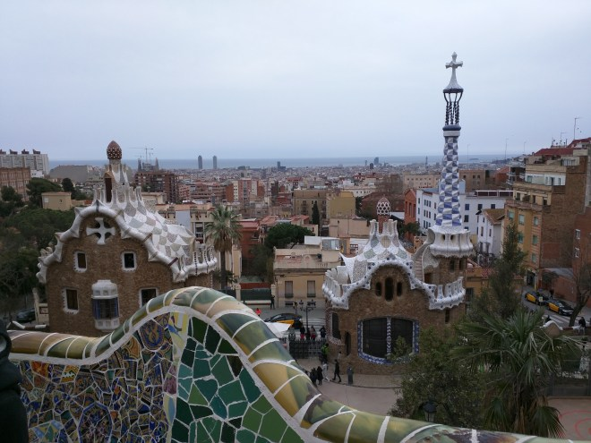 Parque Guell Gaudì Barcelona2