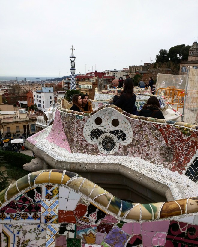 Parque Guell Gaudì Barcelona4