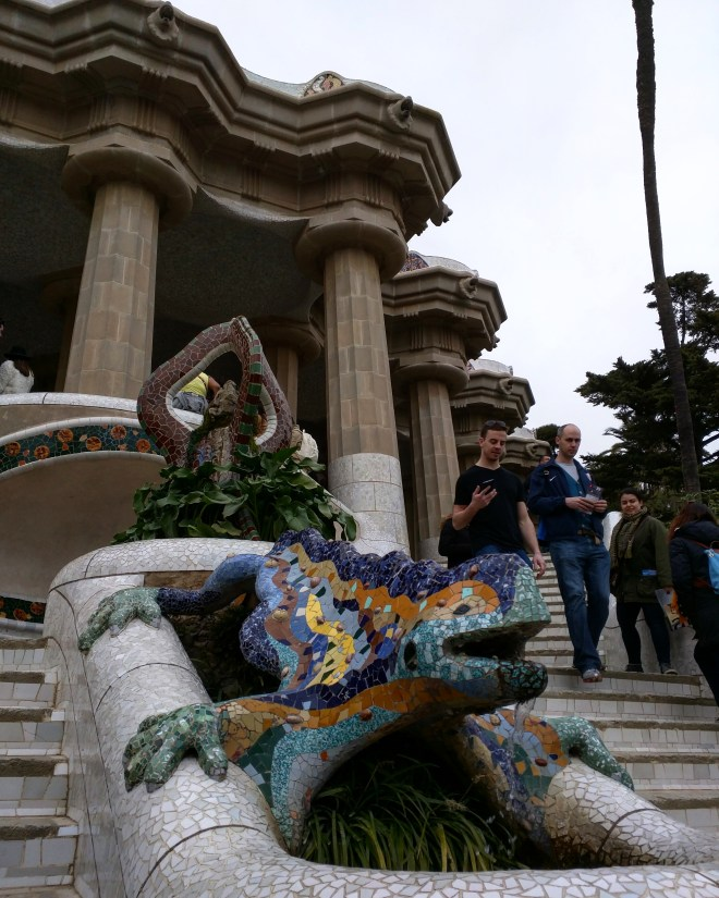 Parque Guell Gaudì Barcelona7