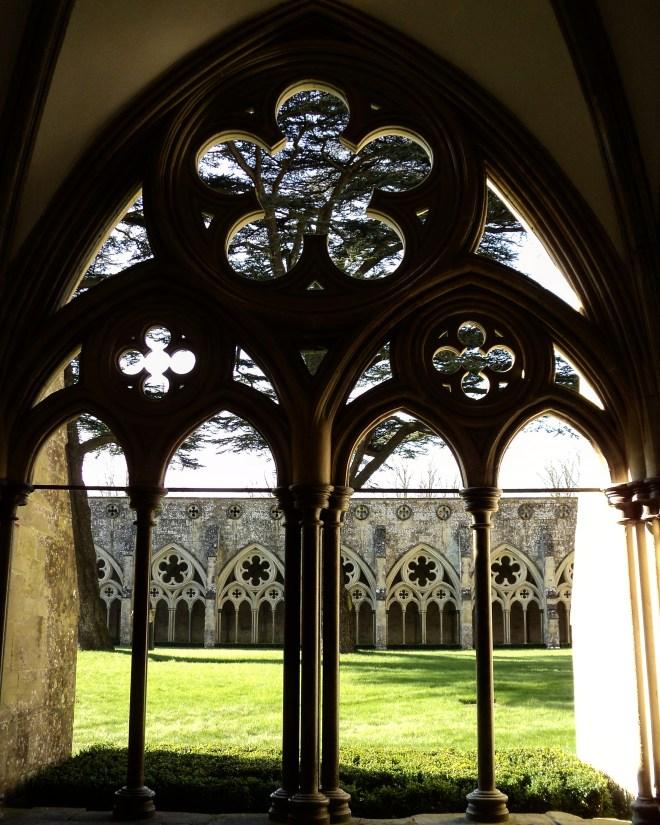 Salisbury Catedral Claustro 3
