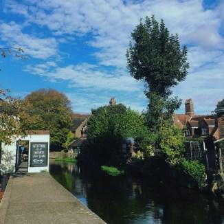 Salisbury cidade Inglaterra Rio Avon 2