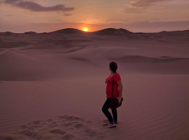 Viajar sem despachar deserto