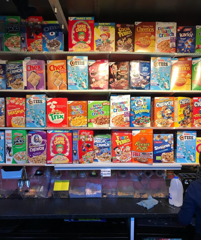 Camden Market cereal killer