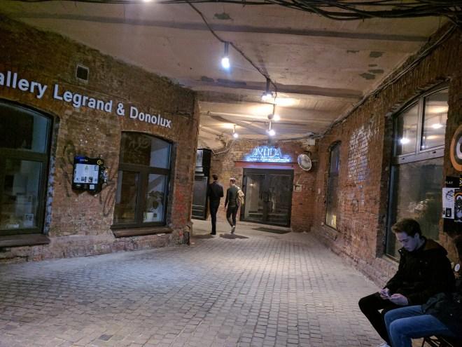Fabricas de Moscou centros culturais Artplay 5