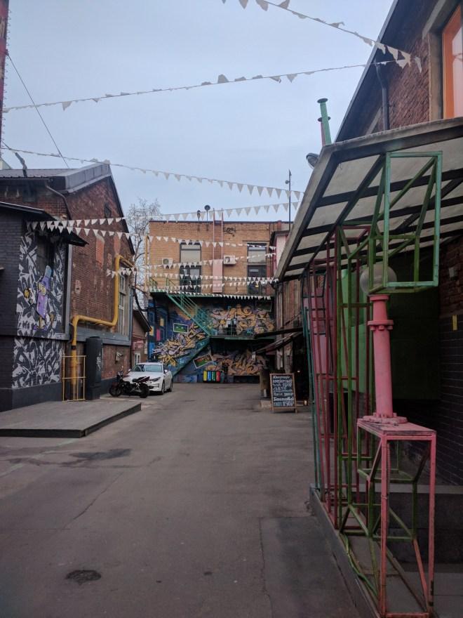 Fabricas de Moscou centros culturais flakon 2