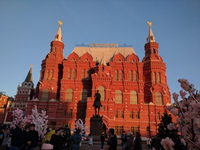 museu estatal russo praça vermelha moscou