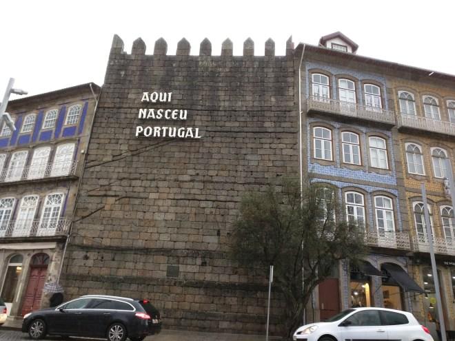 Guimarães Portugal aqui nasceu