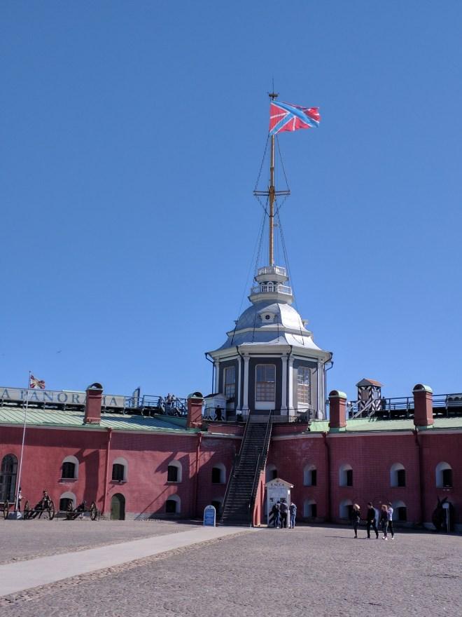 Petersburgo Fortaleza de Pedro e Paulo interior do forte 3