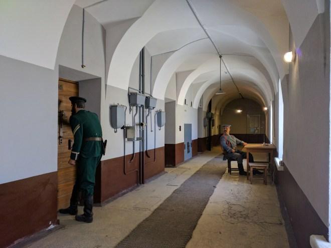 Petersburgo Fortaleza de Pedro e Paulo prisão trubetskoy corredor